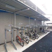 アイル新宿 自転車置場